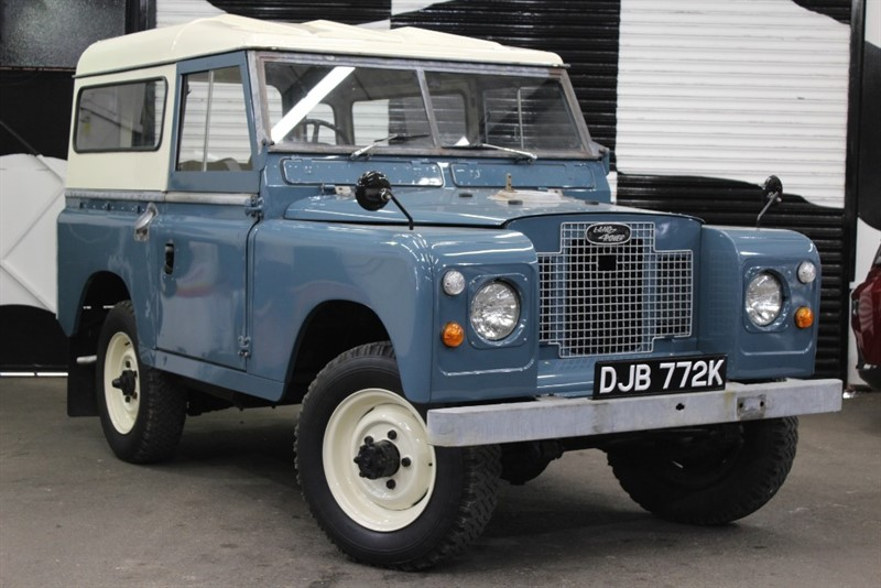 used Land Rover Defender Series 2a in basingstoke-hampshire
