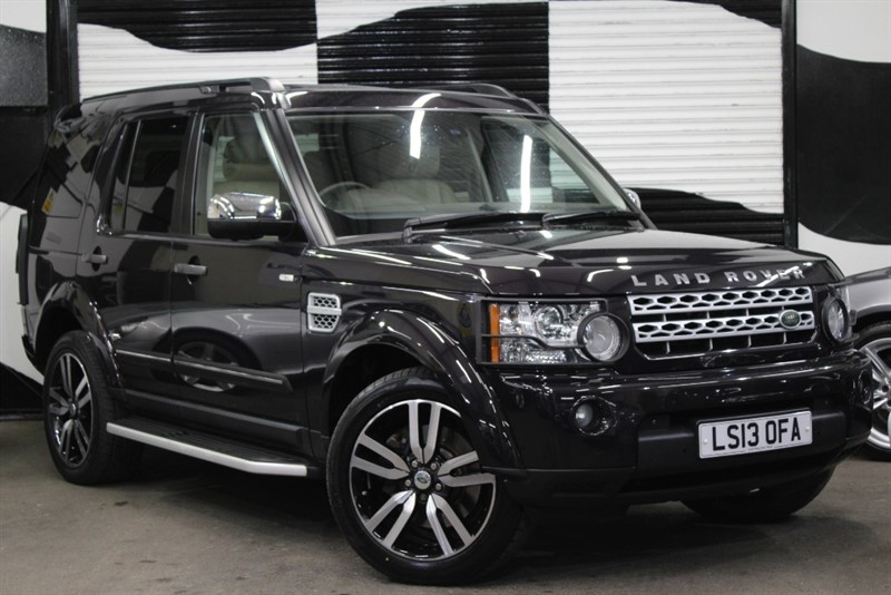 used Land Rover Discovery SDV6 HSE LUXURY in basingstoke-hampshire
