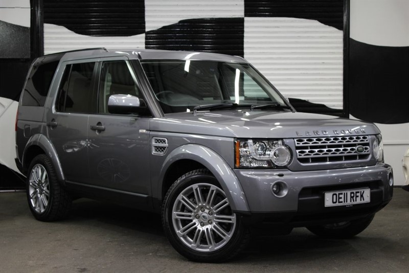 used Land Rover Discovery 4 SDV6 HSE in basingstoke-hampshire