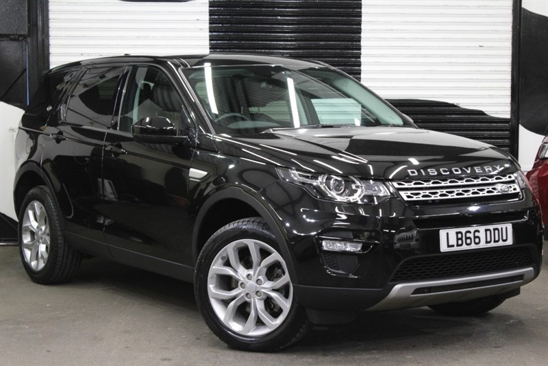 used Land Rover Discovery Sport TD4 HSE in basingstoke-hampshire