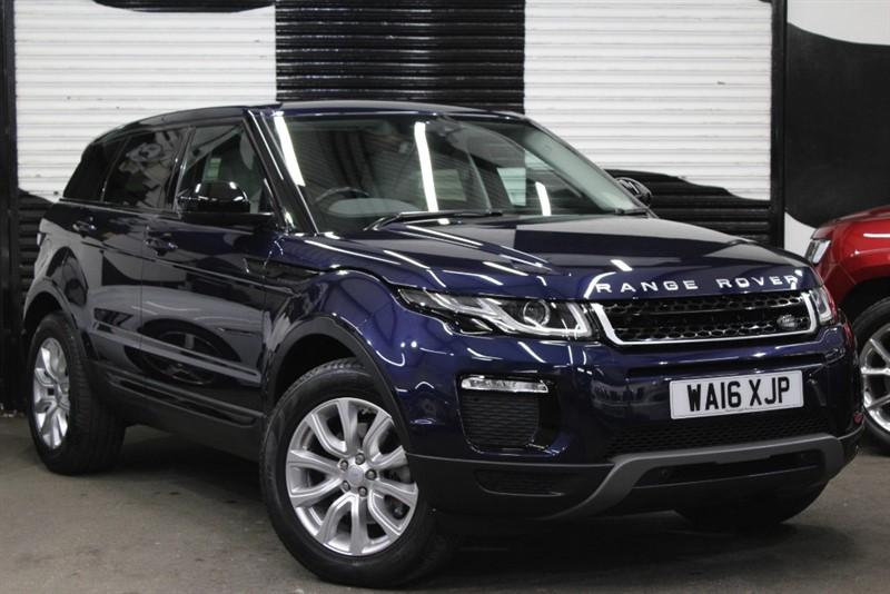 used Land Rover Range Rover Evoque TD4 SE TECH in basingstoke-hampshire