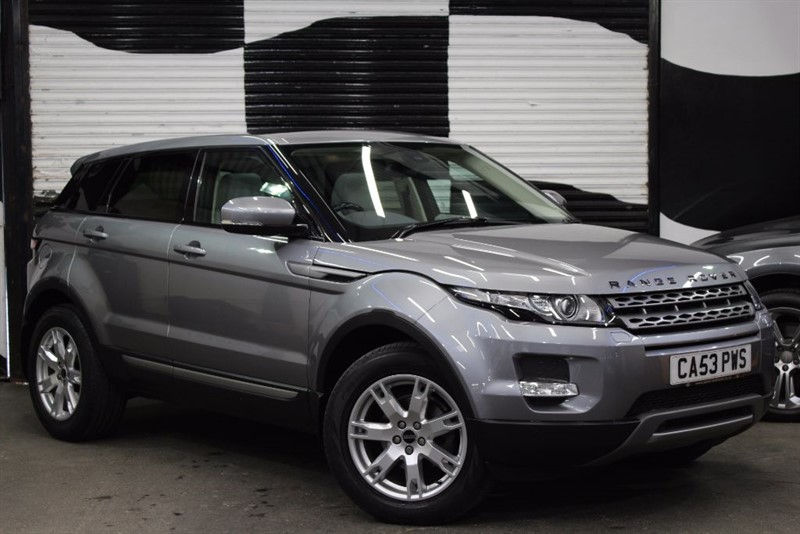 used Land Rover Range Rover Evoque SD4 PURE in basingstoke-hampshire