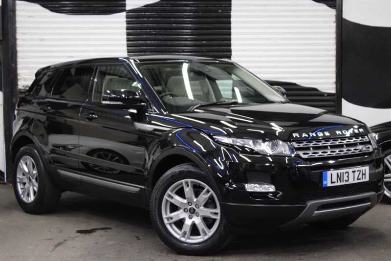 used Land Rover Range Rover Evoque SD4 PURE TECH in basingstoke-hampshire