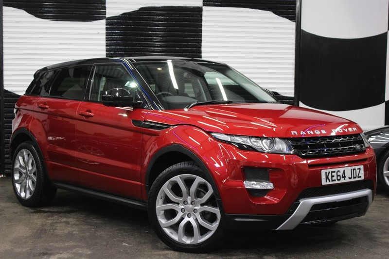 used Land Rover Range Rover Evoque SD4 DYNAMIC LUX in basingstoke-hampshire