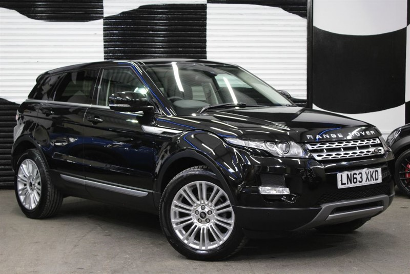used Land Rover Range Rover Evoque SD4 PRESTIGE in basingstoke-hampshire