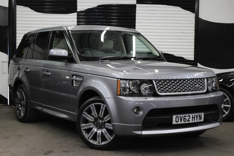used Land Rover Range Rover Sport SDV6 AUTOBIOGRAPHY SPORT in basingstoke-hampshire