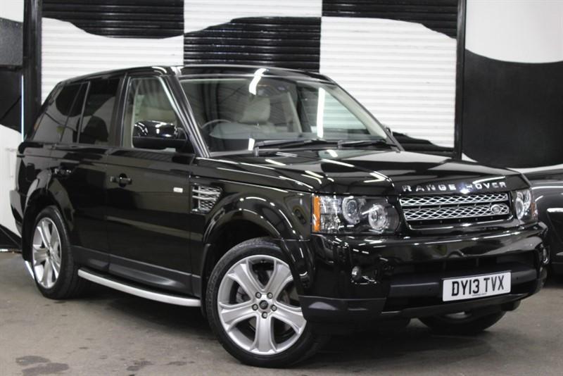 used Land Rover Range Rover Sport SDV6 HSE BLACK in basingstoke-hampshire