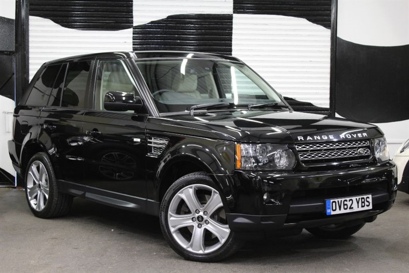 used Land Rover Range Rover Sport SDV6 HSE LUXURY in basingstoke-hampshire