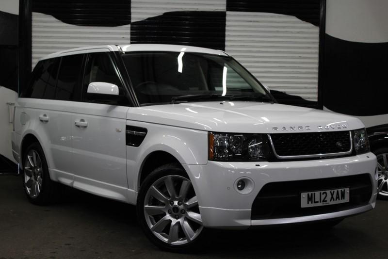 used Land Rover Range Rover Sport V8 HSE in basingstoke-hampshire