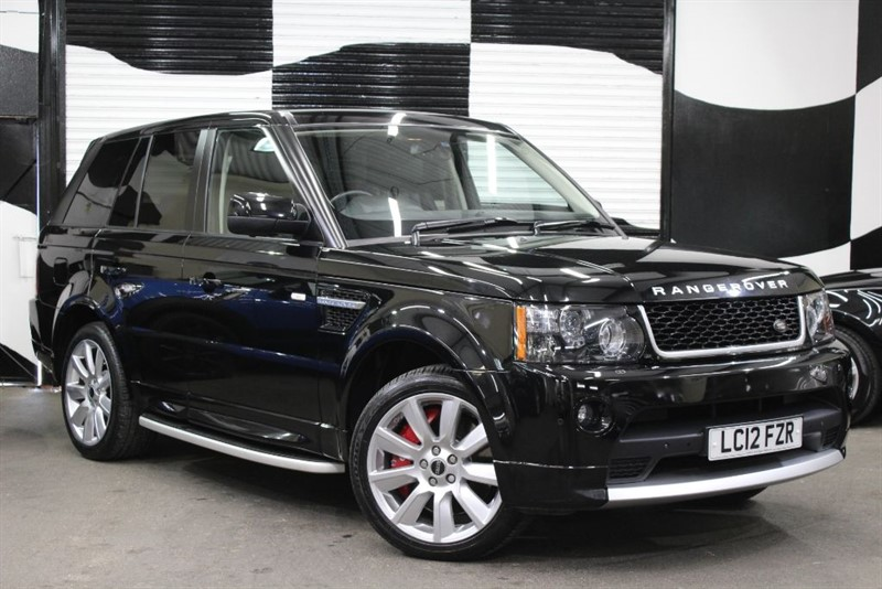 used Land Rover Range Rover Sport 5.0 V8 Supercharged HSE in basingstoke-hampshire