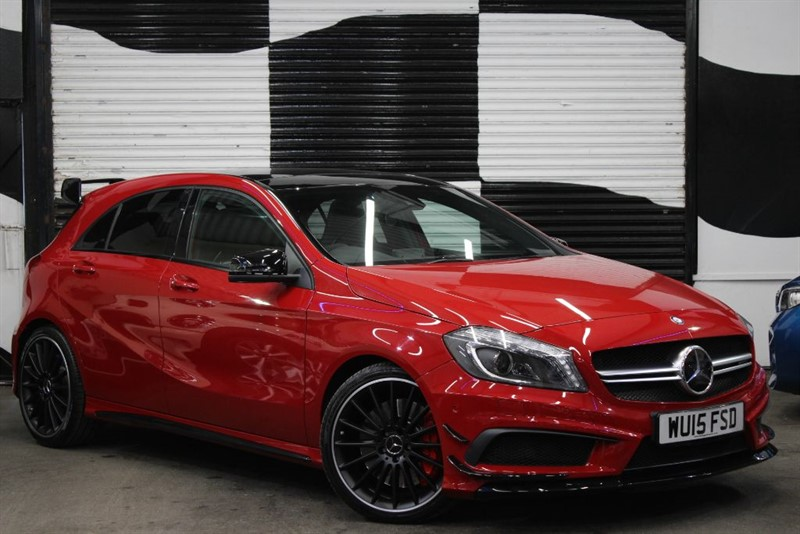 used Mercedes A45 AMG 4MATIC in basingstoke-hampshire