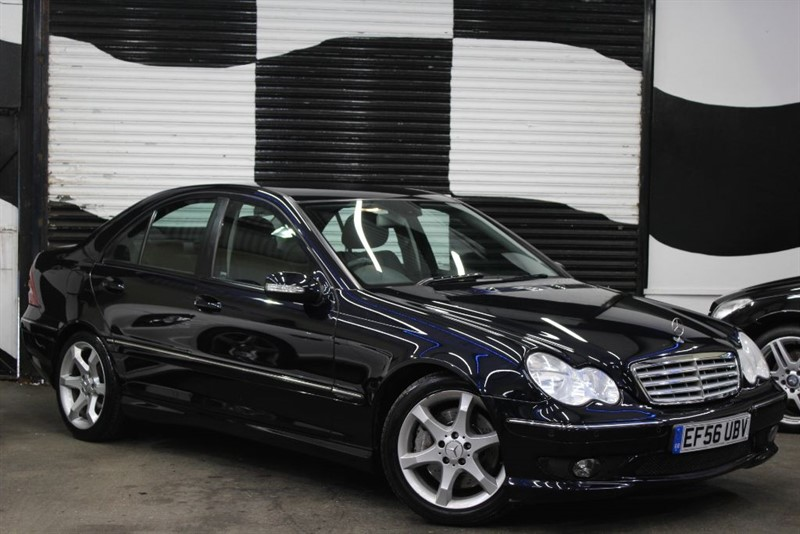used Mercedes C180 KOMPRESSOR SPORT EDITION in basingstoke-hampshire