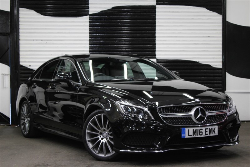 used Mercedes CLS220 CLS220 D AMG LINE PREMIUM in basingstoke-hampshire