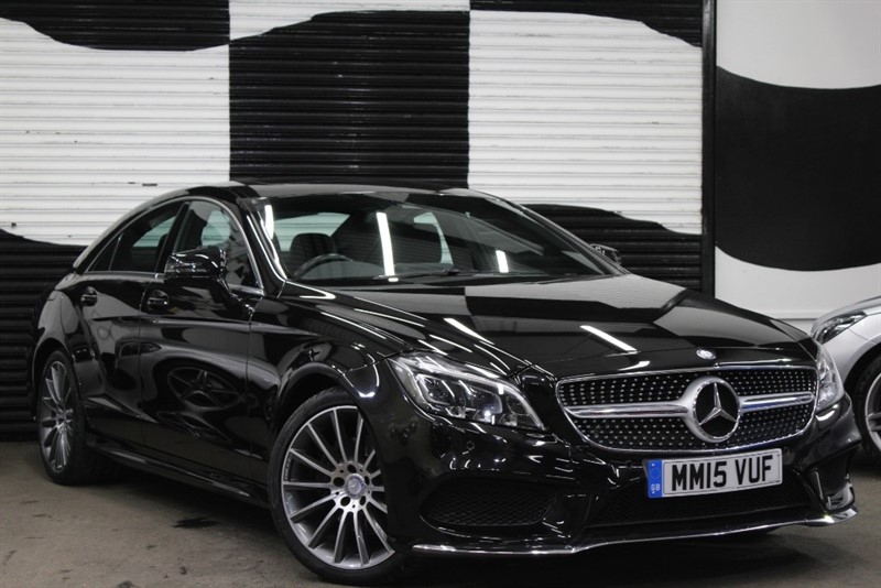 used Mercedes CLS220 CLS220 cdi BLUETEC AMG LINE PREMIUM in basingstoke-hampshire