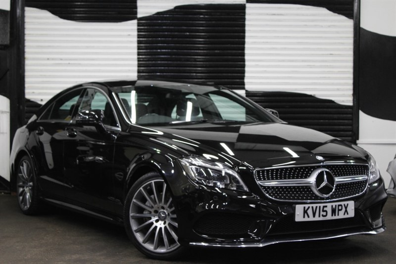used Mercedes CLS350 CLS350 D AMG LINE PREMIUM in basingstoke-hampshire