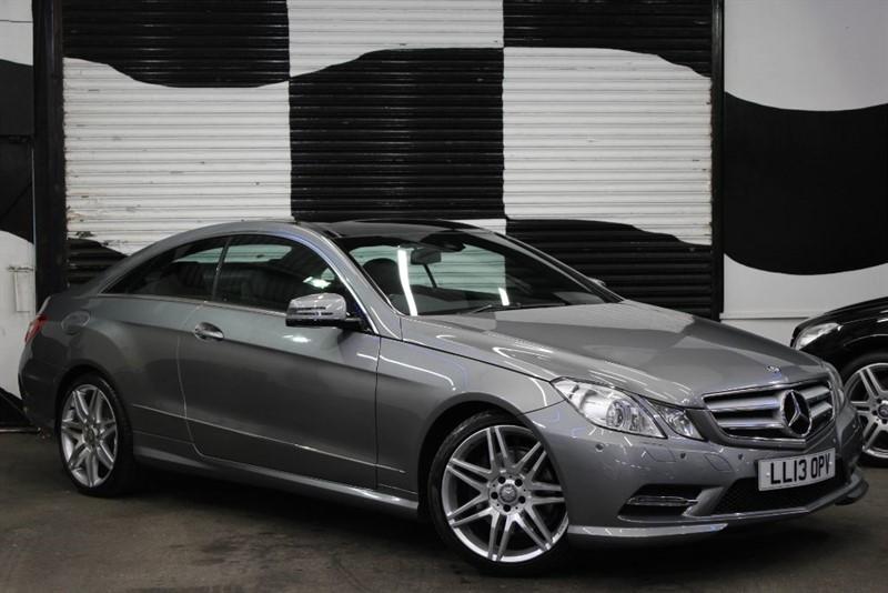 used Mercedes E250 CDI BLUEEFFICIENCY S/S SPORT in basingstoke-hampshire