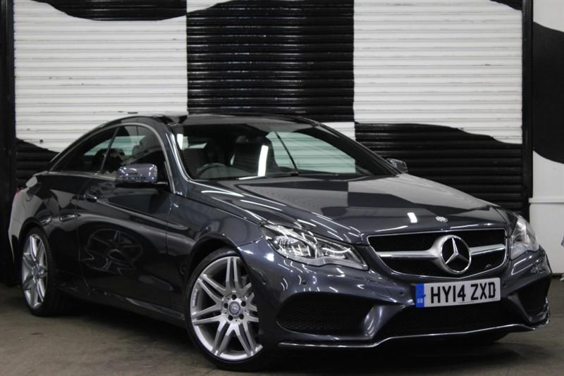 used Mercedes E220 CDI AMG SPORT in basingstoke-hampshire