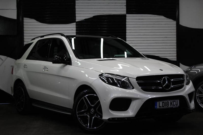 used Mercedes GLE250 GLE  D 4MATIC AMG NIGHT EDITION PREMIUM PLUS in basingstoke-hampshire
