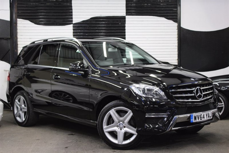 used Mercedes ML250 BLUETEC AMG LINE in basingstoke-hampshire