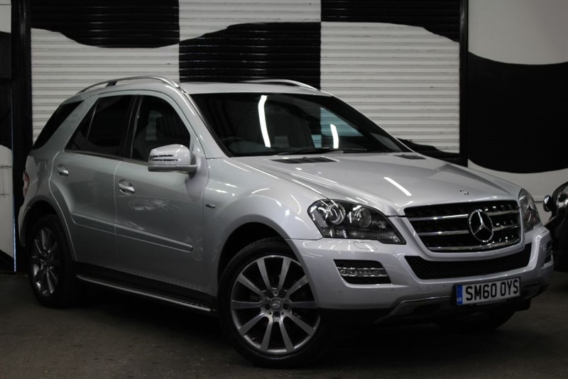 used Mercedes ML300 CDI BLUEEFFICIENCY GRAND EDITION in basingstoke-hampshire