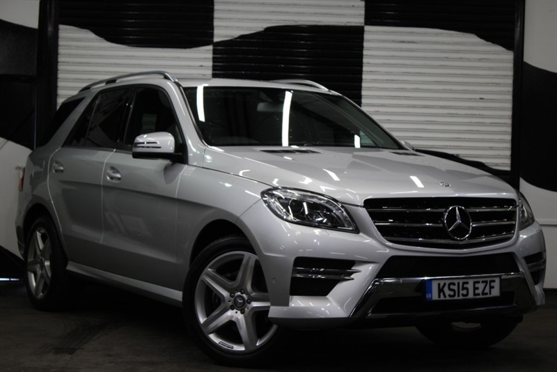 used Mercedes ML350 BLUETEC AMG LINE in basingstoke-hampshire