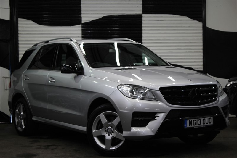used Mercedes ML350 BLUETEC AMG SPORT in basingstoke-hampshire