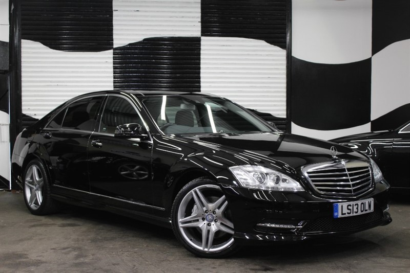used Mercedes S350 BLUETEC L AMG SPORT EDITION in basingstoke-hampshire