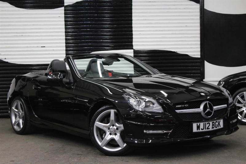 used Mercedes SLK200 SLK200 BLUEEFFICIENCY AMG SPORT ED125 in basingstoke-hampshire