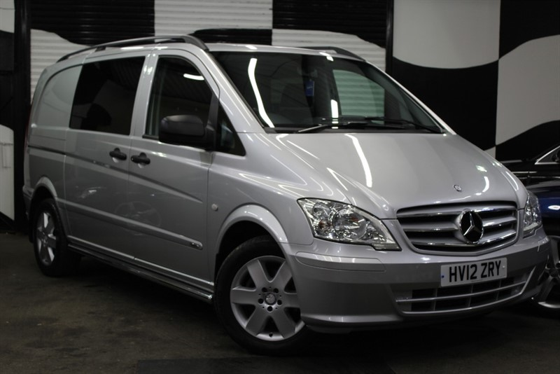 used Mercedes Vito 116 CDI DUALINER in basingstoke-hampshire