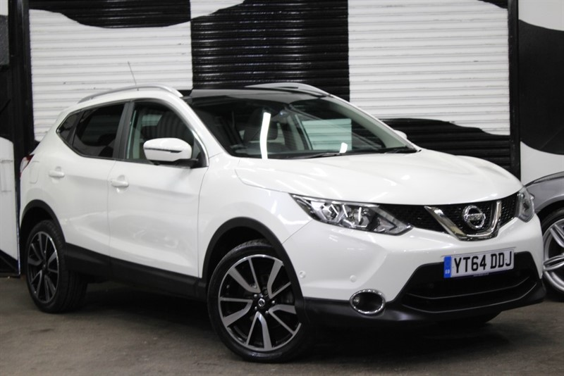 used Nissan Qashqai DCI TEKNA in basingstoke-hampshire