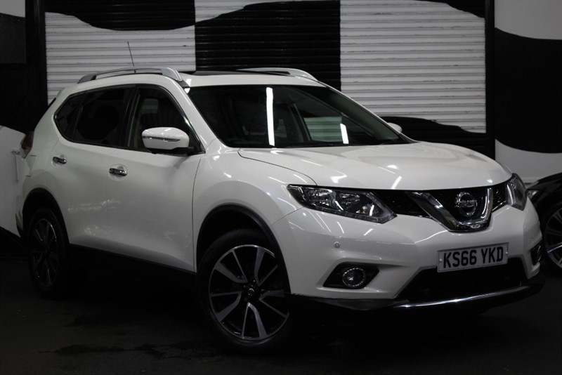 used Nissan X-Trail DCI N-TEC XTRONIC CVT (7 SEATS) in basingstoke-hampshire