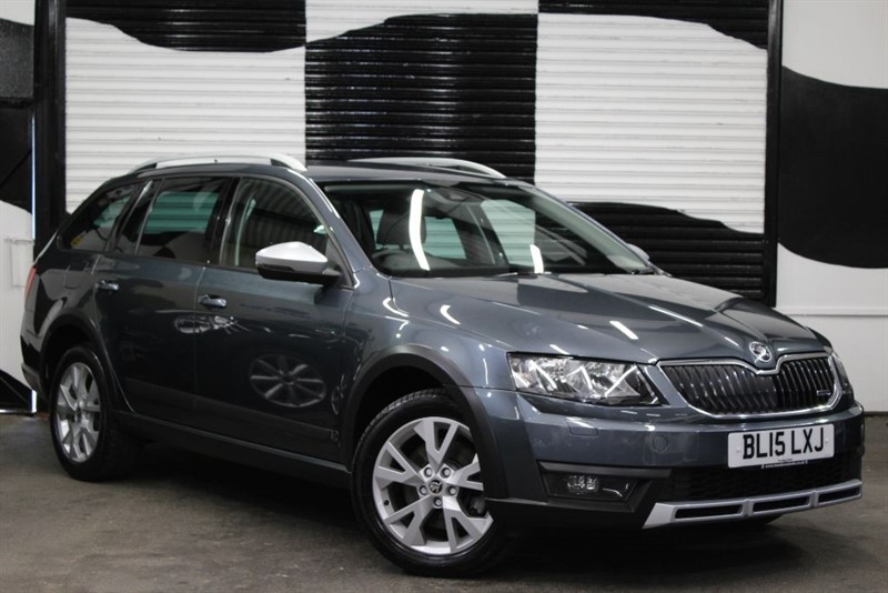 used Skoda Octavia SCOUT TDI CR 4X4 DSG in basingstoke-hampshire