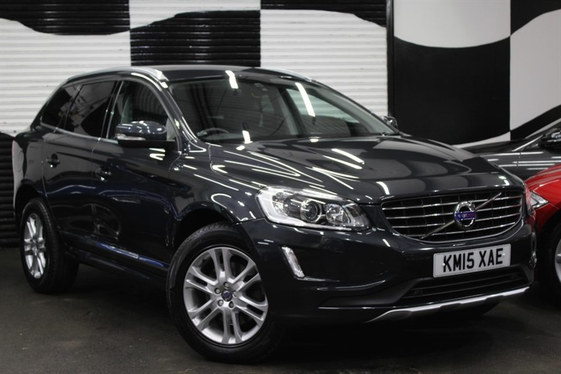 used Volvo XC60 D5 SE LUX NAV AWD in basingstoke-hampshire