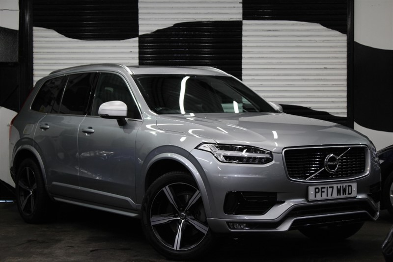 used Volvo XC90 D5 POWERPULSE R-DESIGN PRO AWD in basingstoke-hampshire