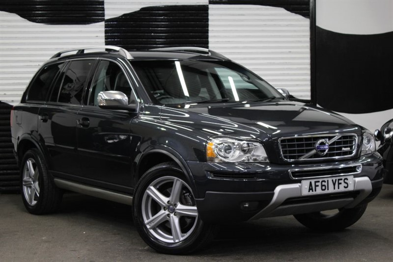 used Volvo XC90 D5 R-DESIGN AWD in basingstoke-hampshire