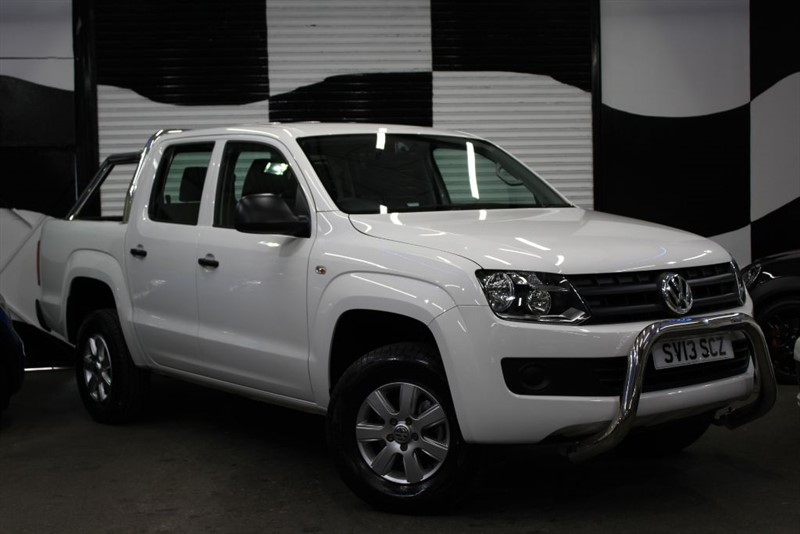 used VW Amarok DC TDI STARTLINE 4MOTION in basingstoke-hampshire
