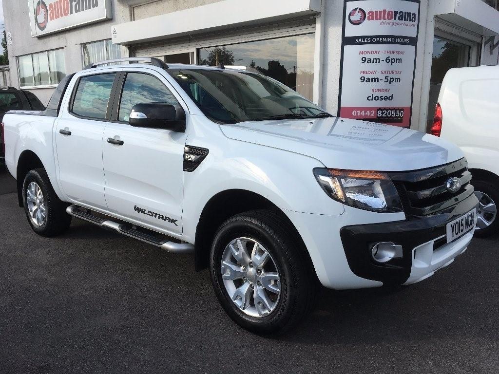 used white ford ranger for sale hertfordshire