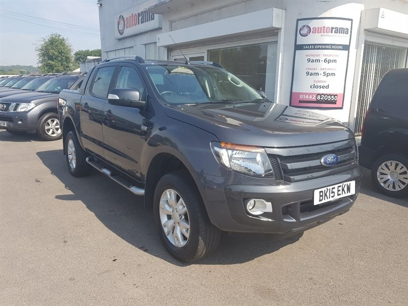 used Ford Ranger TDCi Wildtrak Double Cab Pickup 4x4 4dr (EU5) in hertfordshire