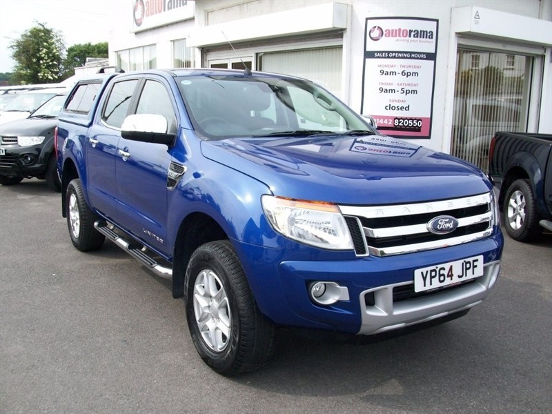 used Ford Ranger TDCi (EU5) Limited 2 Double Cab Pickup 4x4 4dr in hertfordshire