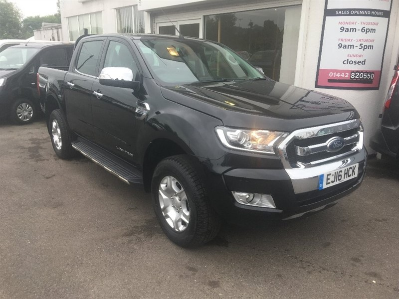 used Ford Ranger TDCi Limited 1 Double Cab Pickup 4x4 4dr in hertfordshire