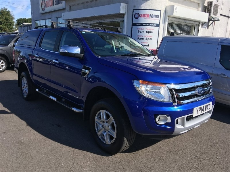 used Ford Ranger TDCi Limited 2 Double Cab Pickup 4x4 4dr (EU5) in hertfordshire