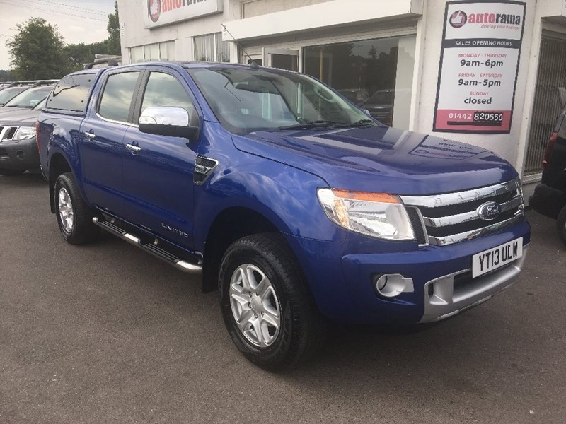used Ford Ranger TDCi Limited Double Cab Pickup 4x4 4dr (EU5) in hertfordshire