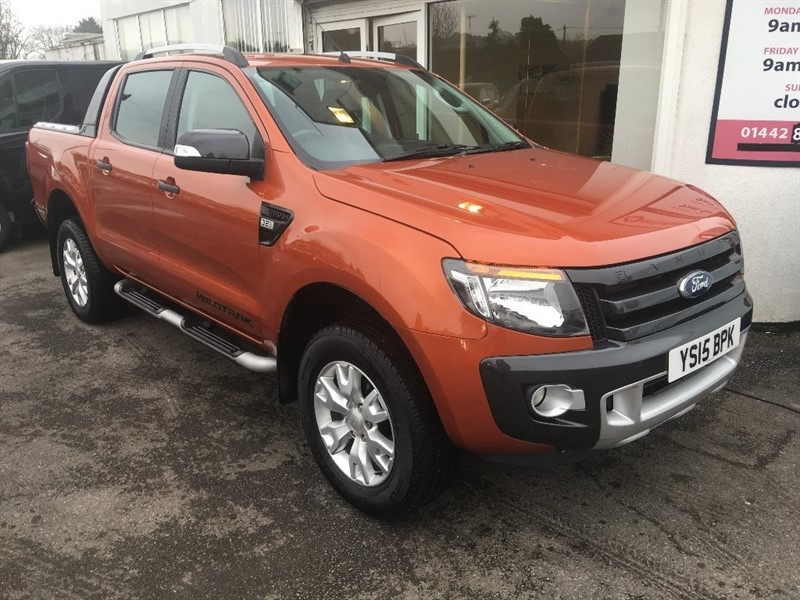 used Ford Ranger TDCi (EU5) Wildtrak Double Cab Pickup 4x4 4dr in hertfordshire