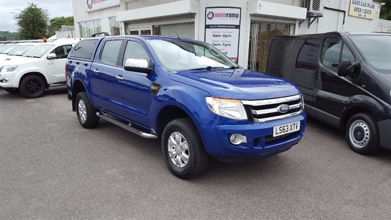 used Ford Ranger TDCi (EU5) XLT Double Cab Pickup 4x4 4dr in hertfordshire