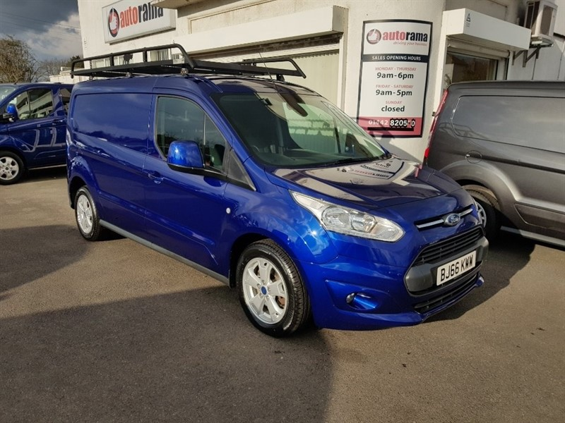 used Ford Transit Connect TDCi L2 240 Limited Panel Van 5dr (EU6) in hertfordshire
