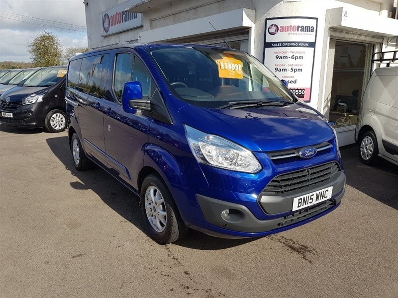 used Ford Transit Custom TDCi 290 L1H1 Limited Double Cab-in-Van 6dr in hertfordshire