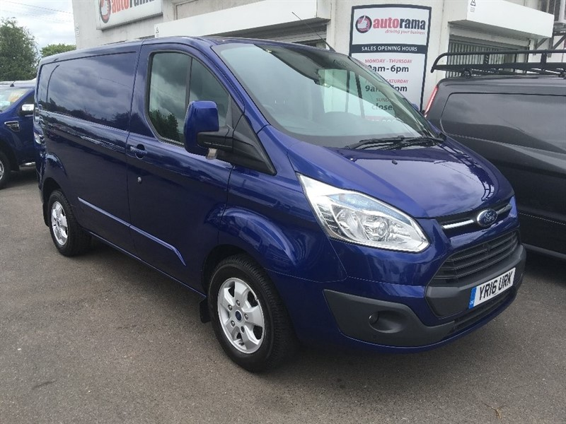 used Ford Transit Custom TDCi 270 L1H1 Limited Panel Van 5dr in hertfordshire