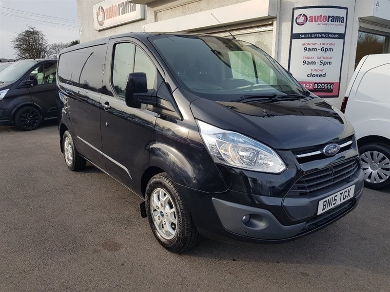 used Ford Transit Custom 2.2 TDCi 290 L1H1 Limited Panel Van 5dr in hertfordshire