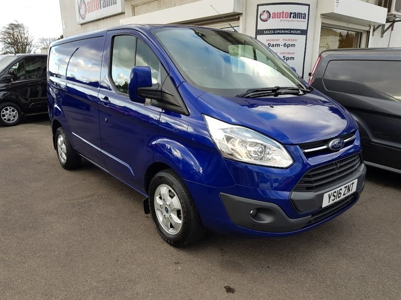 used Ford Transit Custom 2.2 TDCi 270 L1H1 Limited Panel Van 5dr in hertfordshire