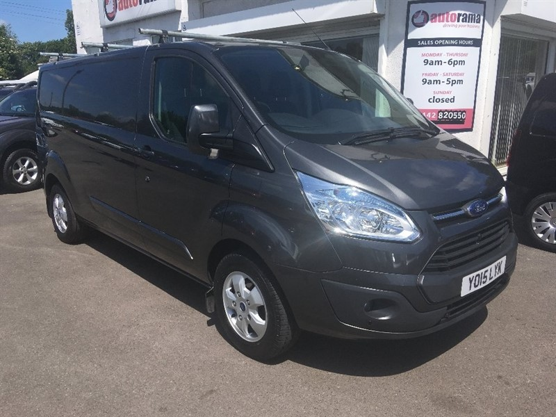 used Ford Transit Custom TDCi 290 L2H1 Limited Panel Van 5dr in hertfordshire